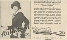Y6541 KALIKLORA Zahnpasta -  Pubblicità d'epoca - 1927 Old advertising