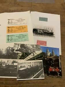 GWR Museum / BR Swindon Works, Photo's, Postcards, Tickets