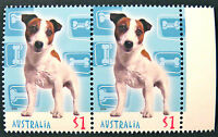 Australian Decimal Stamps: 2004 Cats & Dogs Stamp Collecting Mnth-Double-Tab MNH