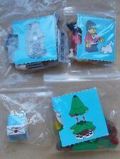 LEGO CITY CHRISTMAS SCENE GIRLS CHRISTMAS MORNING XMAS EVE CAT FIREPLACE TREE