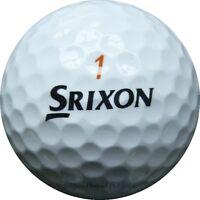 36 Srixon Trispeed Mix Golfbälle im Netzbeutel AAAA Lakeballs Tri Speed Bälle