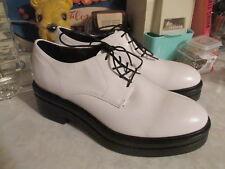 49a1034d52c Urban Outfitters Vagabond White Leather Platform Oxfords EU39 US 8.5 9  180