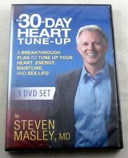 30-DAY HEART TUNE-UP - 3 DVD Set - Steven Masley - 2014 - NEW In Shrinkwrap