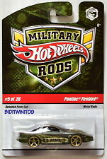HOT WHEELS MILITARY RODS PONTIAC FIREBIRD #5/26