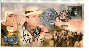 """Doctor Who """"The Seventh Doctor"""" Ltd Edition Stamp Cover Signed By Sylvester McCo"""