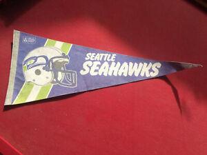 Seattle Seahawks NFL FOOTBALL VINTAGE LICENSED OFFICIAL PENNANT