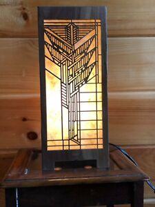 Lightbox Accent Lamp Solid Black Walnut (Design # 3)