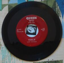 Mark Johnson 45 Backin' Up 1955 Queen Texas Small Label Country VG