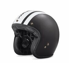 HARLEY-DAVIDSON® OPEN FACE HELMET BELL CUSTOM LEATHER 98140-18EX SMALL