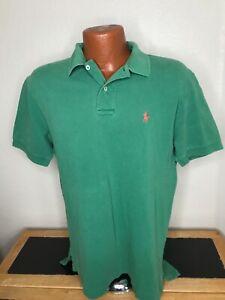Men's Polo by Ralph Lauren S/S Polo/Golf Shirt Size Medium (M) Green