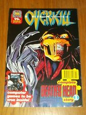 OVERKILL #47 MARVEL UK COMIC MAGAZINE DEATHS HEAD