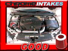 BLACK RED 06 07 08 09 CHEVY MALIBU/PONTAIC G6 3.9 3.9L V6 FULL AIR INTAKE KIT