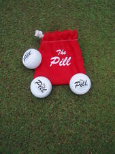 The Pill  (3 Training Pills with Warm Up Bag) - Golf Putting Training Aid