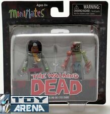 Minimates The Walking Dead Michonne and One-Eyed Zombie 2 Pack Action Figure