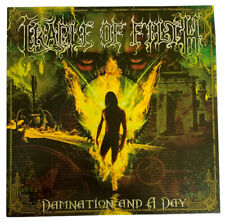 New Cradle Of Filth ‎Damnation And A Day Record Album Vinyl Sony Music 2003