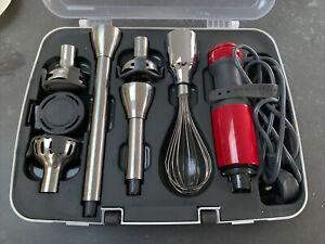 KitchenAid 5KHB2571 240 V 5 Speeds Hand Blender Red