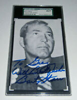 PACKERS Bart Starr signed postcard RGA photo personalized JSA AUTO Autographed
