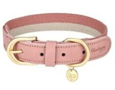 "Blueberry Pet Genuine Leather 12""-15"" Pin Dog Collar"