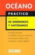Diccionario de Sinonimos Y Antonimos/ Dictionary of Sinonyms and Antonyms