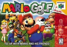 Nintendo 64 N64 Mario Golf Video Game Cartridge *Cosmetic Wear*