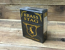 Solid Brass, Metal Playing Cards, Real Metal, Deck weighs 1.6 pounds