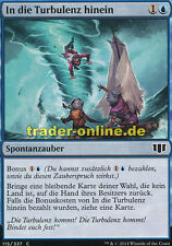 4x In die Turbulenz hinein (Into the Roil) Commander 2014 Magic
