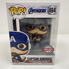 FUNKO POP! MARVEL AVENGERS - CAPTAIN AMERICA EMP EXCLUSIVE SPECIAL EDITION #464