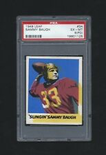 1948 Leaf #34 Sammy Baugh RC PSA 6 (PD) Redskins