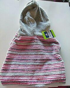 Top Paw Fleece Dog Shirt Hoodie Size XL NWT Pink/Gray Soft Fuzzy Warm Dog Coat