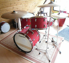 VINTAGE 1965 Slingerland Drum Set + Gene Krupa Snare-VERY RARE + TOP