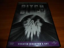 Pitch Black (Dvd, 2000, Unrated Widescreen) Cole Hauser, Vin Diesel Used