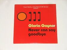 Owen REPLAY, Jimmy proche & Mr Serious-MAXI CD-Gloria Gaynor-Never can say