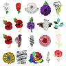 Red Poppy Flower Enamel Remembrance Brooch Lapel Pin Broach Badge Banquet AU