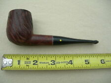 Willard Imported Briar Pipe, Yellow Dot Stem, Carved Bowl