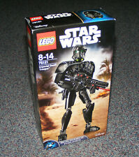 STAR WARS LEGO 75121 IMPERIAL DEATH TROOPER BUILDABLE FIGURE B-STOCK NEW SEALED