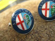 Alfa Romeo Manschettenknöpfe cuff links boutons de manchette запонки gemelli