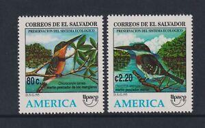 El Salvador - 1995, American Conservation, Birds set - MNH - SG 2312/13