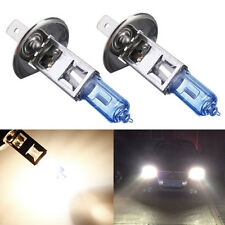 2pcs 100W H1 12V Xenon White 6000k Halogen Fog Car Head Light Lamp Globes Bulbs