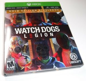 Watchdogs Legion GOLD Edition XB1 STEELBOOK + SLEEVE ONLY --- NO GAME