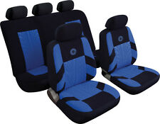 VOLKSWAGEN VW BORA Universal Precision Sports Style Car Seat Covers BLUE