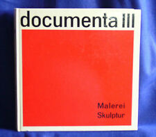 Katalog DOCUMENTA III, Band Malerei, Skulptur