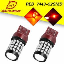 2x 7443 7440 Tail Brake Stop Backup Reverse Car LED Light Bulbs 2835/3030 12-24V