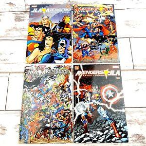 JLA Avengers Busiek Perez # 1-4  DC vs Marvel Justice League of America 2003 VG