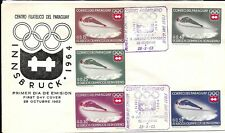 PARAGUAY 1963 OLYMPIC FDC