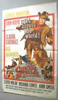 Filmplakat,PLAKAT,CIRCUS WORLD JOHN WAYNE,RITA HAYWORTH,CLAUDIA CARDINALE-35