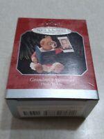 HALLMARK 2008 School Memories Photo Holder Ornament NEW in damaged box