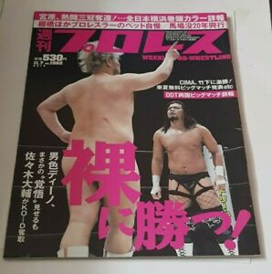 Weekly Pro Wrestling Magazine - November 7th 2018 - DDT Front Cover