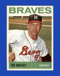 1964 Topps Set Break #437 Ed Bailey EX-EXMINT *GMCARDS*