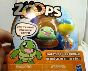 ZOOPS Hasbro Twisting Climbing Wacky Zooming Animals NEW turtle green
