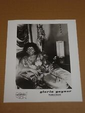 Gloria Gaynor 1982 10 x 8 US Agency Publicity Photo